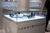 Tommy Hilfiger Glasses On Display At Mido 2014 In Milan, Italy