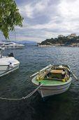 Fisherboat At Kassiopi Harbor, Corfu, Greece