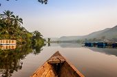 Canoe Ride In Africa