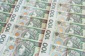 Polish currency 100 zloty