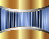 Abstract Metallic Background 3