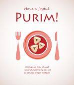 invitation for Purim party and dinner