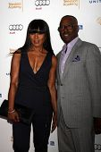 LOS ANGELES - AUG 23:  Angela Bassett, Courtney B. Vance at the Television Academy's Perfomers Nomin