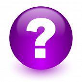 question mark internet icon