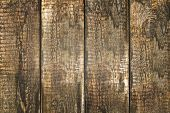 Background of brown old natural wood planks Dark aged empty rural room with tree floor pattern textu
