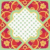 Marrakesh Orange & Pink Tile