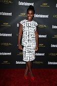 LOS ANGELES - AUG 23:  Uzo Aduba at the 2014 Entertainment Weekly Pre-Emmy Party at Fig & Olive on A