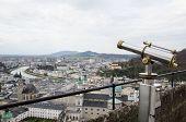 Public Telescope For Urban Scene