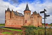 Muiden castle - medieval castle of Holland