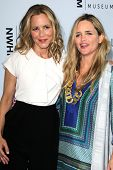 LOS ANGELES - AUG 23:  Maria Bello, Clare Munn at the 3rd Annual Women Making History Brunch at Skir