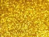 Golden Blur Bokeh Background