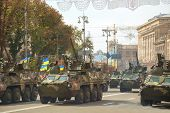Modern Ukrainian Armored Troop-carriers Bucephalus In Kyiv