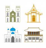 Church-outline