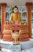 Khmer Budda statue