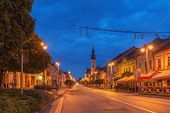 Presov, Slovakia in evening light