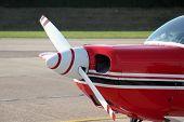 Propeller Of Small Sportsplane