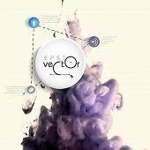 Cloud of Ink In Water