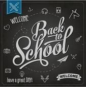 Back to school, vector Eps10