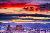 Sunrise In The Utah Desert