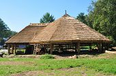 stock photo of sibiu  - sibiu romania ethnic museum wood house architecture - JPG