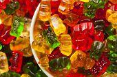 Colorful Fruity Gummy Bears