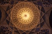Cupola in Imam mosque in Kerman