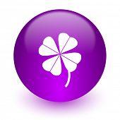 four-leaf clover internet icon