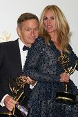 LOS ANGELES - AUG 25:  Dante Di Loreto, Julia Roberts at the 2014 Primetime Emmy Awards - Press Room