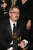 LOS ANGELES - AUG 25:  Vince Gilligan at the 2014 Primetime Emmy Awards - Press Room at Nokia Theater at LA Live on August 25, 2014 in Los Angeles, CA