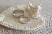 Wedding Rings Close-up