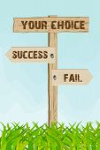Success Or Fail Choice