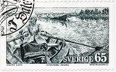 Anders Zorn Stamp