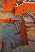 Jantar Mantar Delhi High View Of Ecsheresque Land