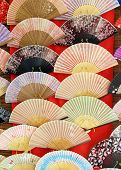 Japanese paper fans.