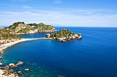 Isola Bella; Landscape From Taormina