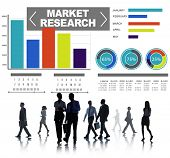 Market Research Business Percentage Research Marketing Strategy Concept