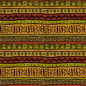 Ethnic Ornamental African Endless Texture