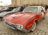 Retro Ford Thunderbird
