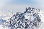 Peak of Mount and cloud