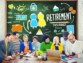 Diversity Casual People Employee Retirement Learning Brainstorming Concept