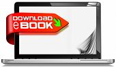 E-book Download - Laptop Computer