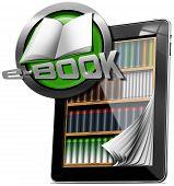 Tablet Computer - Library E-book