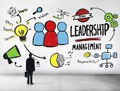 Businessman Leadership Management Corporate Aspiration Concept