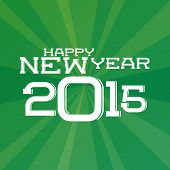 a green background with a happy new year message
