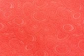 Ornate Red Paper