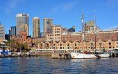 Sailing Ship Moored At Circular Quay, Sydney
