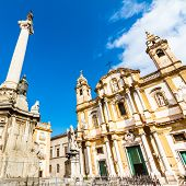 foto of domination  - Church of Saint Dominic in Palermo - JPG