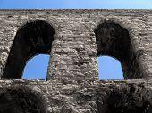 Roman aqueduct detail
