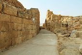 Behind the Amphitheater in Caesarea Maritima National Park