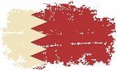 pic of bahrain  - Bahrain grunge flag - JPG